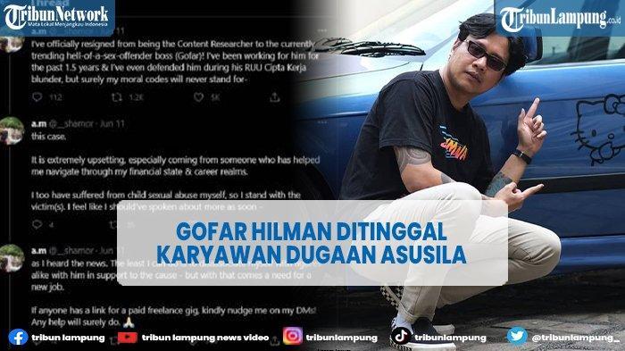 Usai Didepak Rekan Bisnis, Kini Gofar Hilman Ditinggal Karyawannya