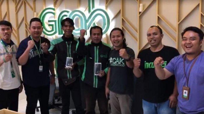 Grab Hadiahkan Handphone Samsung A7 2019 Untuk Mitra Grabbike Lewat Ramadhan Competition Tribun Lampung