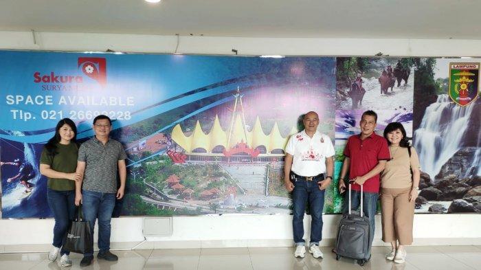 Grand Master Lampung Hash House Harriers Bertolak Ke Kupang