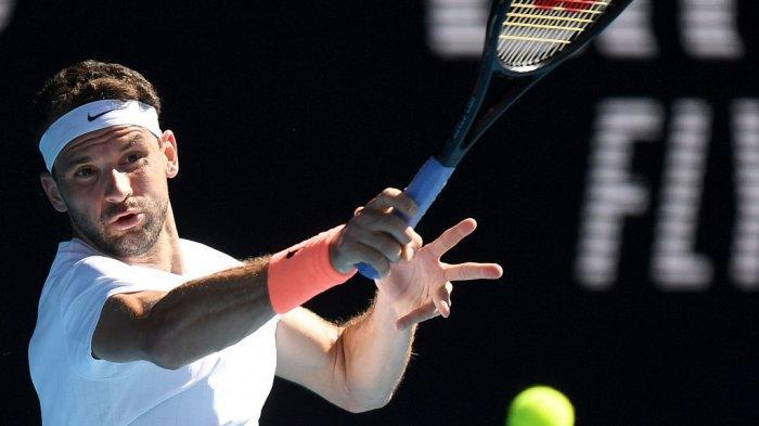 Disingkirkan Dimitrov, Thiem Gagal Melaju ke Perempat Final