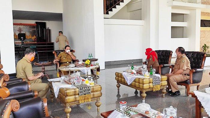 Gubernur Arinal Terima Kunjungan Wali Kota Eva Dwiana