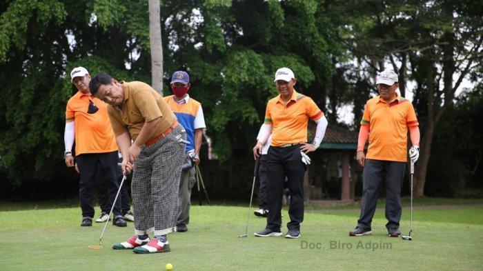Gubernur Arinal Perjuangkan Golf Jadi Olahraga Prestasi