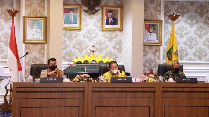Pimpin Rapat Penyelenggaraan Pilkada 2020 di Lampung, Arinal: Jangan Lalai Patuhi Protokol Kesehatan