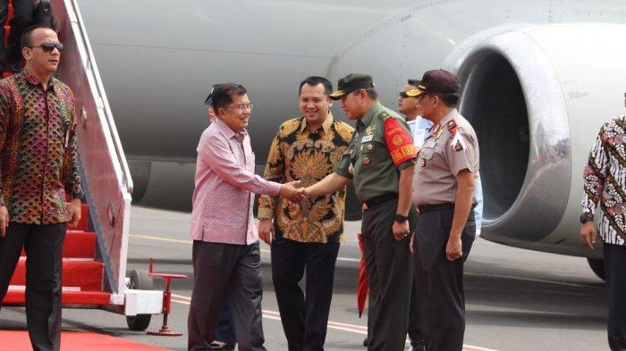 Hadiri Silaknas ICMI, Gubernur Ridho Sambut Wapres Jusuf Kalla