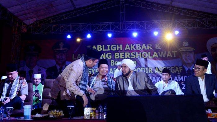 Gubernur Ridho Berharap dengan Bersholawat Tercipta Kesejukan Menjelang Pemilu 2019