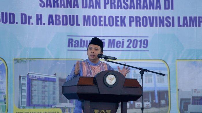 Gubernur Lampung M Ridho Ficardo Meresmikan RSUDAM sebagai RS Kelas A, Hanya Ada 2 di Sumatera!