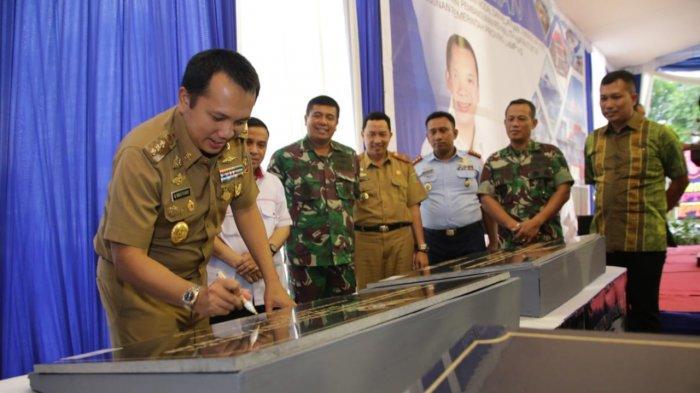 Gubernur Lampung Ridho Ficardo Resmikan Kantor DPMPT Satu Pintu Provinsi Lampung