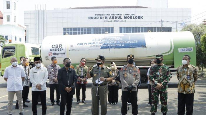 Gubernur Lampung Sampaikan ucapan Terimakasih kepada Gubernur Sumsel