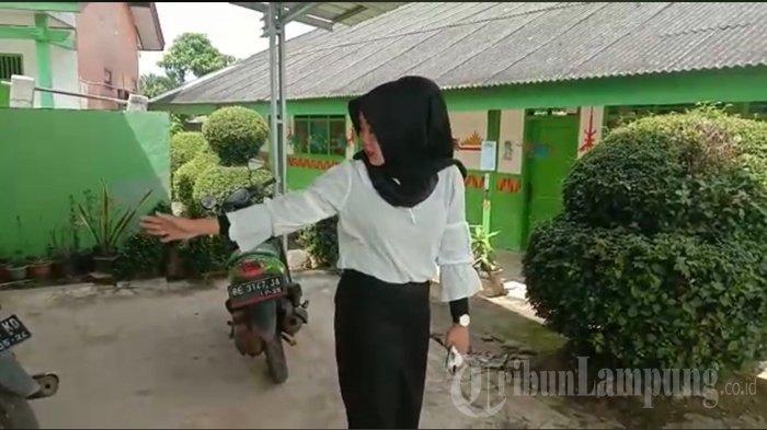 Guru Honorer Korban Curanmor di Lampung Utara Akui Motornya Tak Pakai Kunci Tambahan