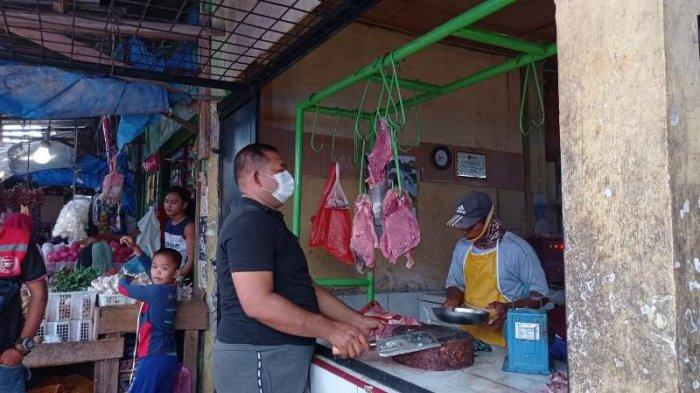 H-2 Lebaran, Harga Daging Sapi di Pasar Mesuji Tembus Rp 150 Ribu per Kg