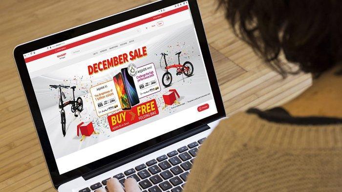 Hadapi Tantangan Era Digital, Sharp Optimis Masuki Bisnis Online
