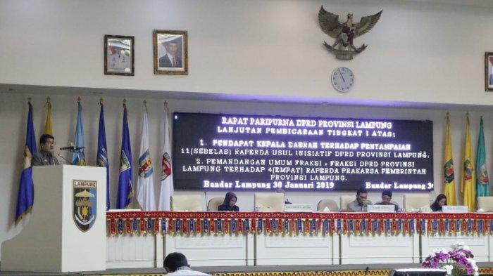 Ridho Beri Apresiasi dan Setujui 11 Raperda yang Diajukan DPRD untuk Dibahas dalam Rapat Lanjutan