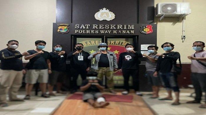 Hantam Korbannya Pakai Kayu, Pelaku Pencurian dengan Kekerasan di Lampung Diringkus