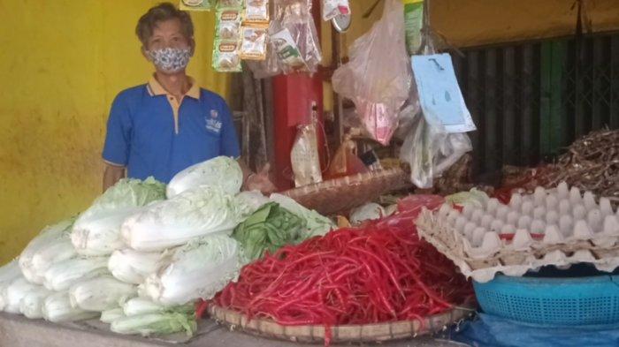 Harga Cabai di Pasar Talang Padang Naik Rp 5.000