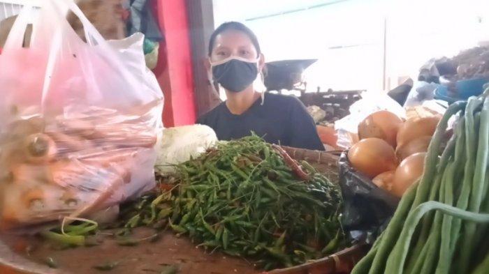 Harga Cabai Rawit di Pasar Talang Padang Meroket Rp 90 Ribu per Kg, Sayuran Ikut Naik