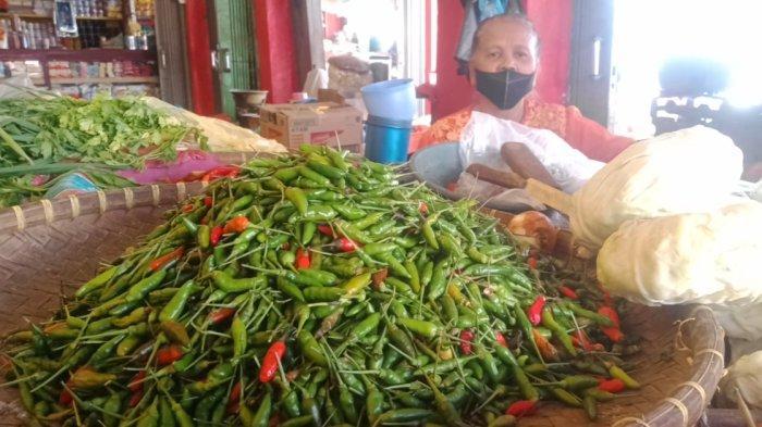 Mulai Naik, Cabai Rawit Kini Rp 30 Ribu di Pasar Talang Padang Lampung