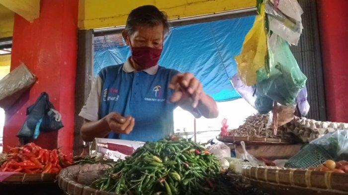 Cabai Rawit di Pasar Talang Padang Lampung Naik Jadi Rp 40 Ribu per Kg