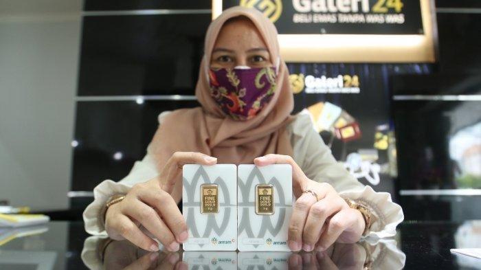 Harga Emas Antam dan UBS Menguat di Akhir Pekan, Capai Rp 971 Ribu per Gram