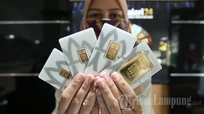 Harga Emas Antam Menguat Hari Ini, UBS Justru Terperosok