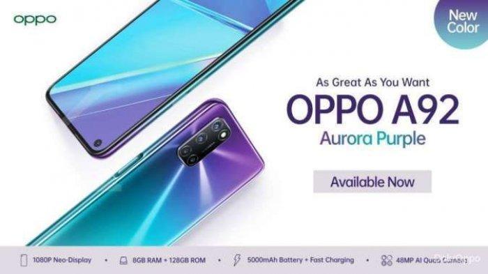 Harga HP Oppo A92 Terbaru 2021, Ponsel Gaming yang Turun Harga di Indonesia
