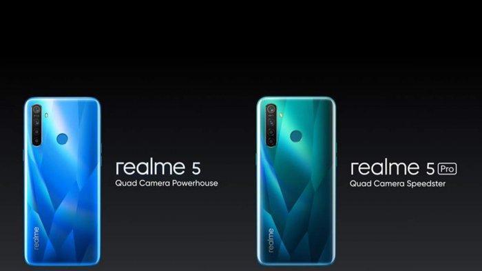 Harga Hp Realme 5 Dan Realme 5 Pro Dan Spesifikasinya Smartphone Realme Teranyar Tribun Lampung