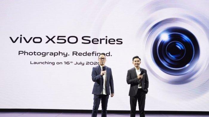 Tipe Seri X Pertama, HP Vivo X50 Snapdragon 730G