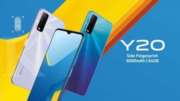 Harga HP Vivo Y20 Rp 2 Jutaan, Kamera Selfie 8 MP