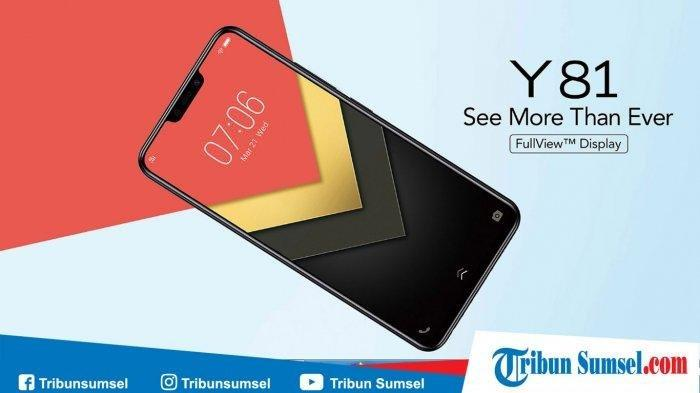 Harga HP Vivo Y81, HP Split Screen