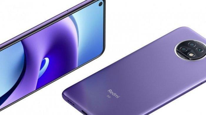 Harga HP Xiaomi Redmi Note 9T, dengan konektivitas 5G