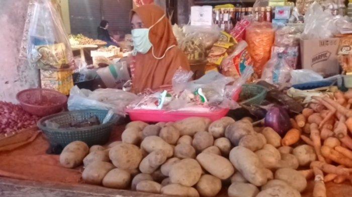 Harga Kentang di Pasar Gisting Tanggamus Naik Rp 14 Ribu per Kg