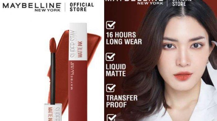 Harga Maybelline Superstay Matte Ink Liquid Matte Lipstick Make Up, Simak Promo Shopee 2021