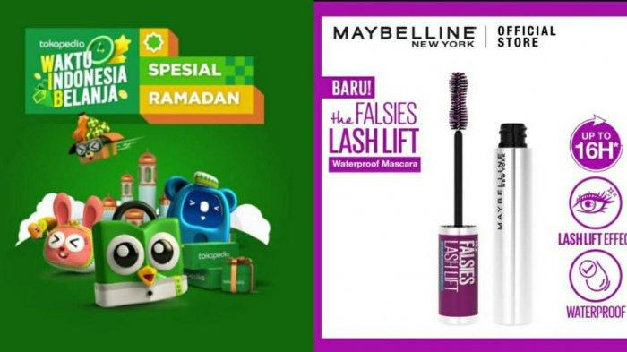 Ilustrasi. Simak harga Maybelline The Falses Lash Lift Waterproof Mascara di dalam promo Tokopedia 2021