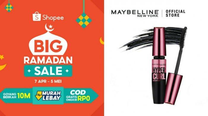 Harga Maybelline Volum Express Hypercurl Waterproof Mascara, Simak Promo Shopee 2021