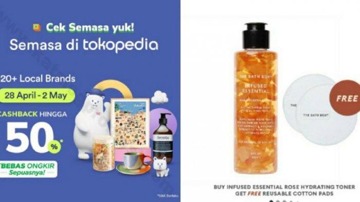 Harga The Bath Box Infused Essential Rose Hydrating Toner 150ml, Simak Promo Tokopedia 2021