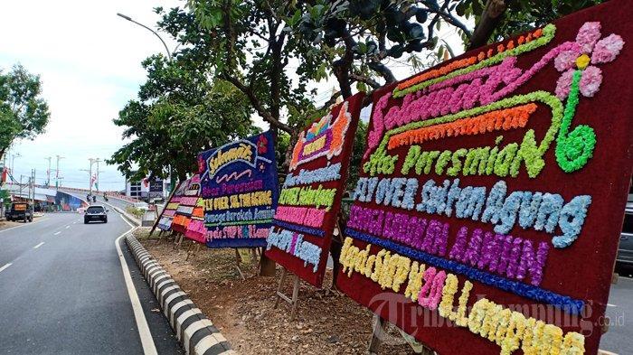 Hari Ini Wali Kota Eva Dwiana Resmikan Flyover Sultan Agung Bandar Lampung