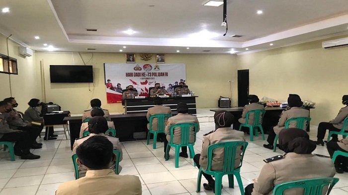 Hari Jadi Polwan Ke-73, Kapolres Way Kanan Lampung Harap Polwan Sukseskan Vaksinasi