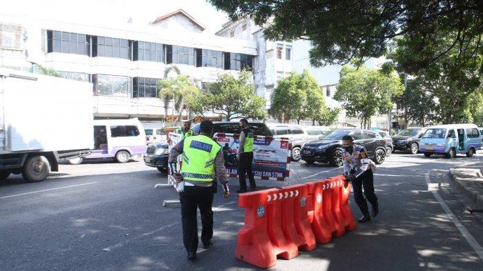 Hari Pertama PPKM Darurat di Bandar Lampung, Ada Penyekatan di 5 Titik Jalan Protokol