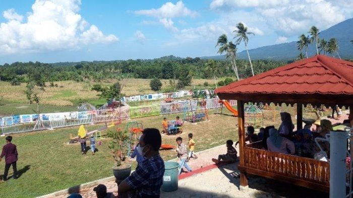 Hari Pertama Ramadan, Kebun Edukasi di Lampung Selatan Mulai Diserbu Pengunjung