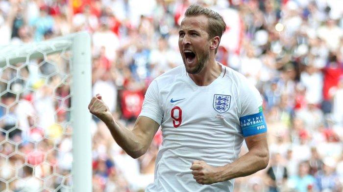 Harry Kane Sejajar dengan Ronaldo, Jadi Top Skor Piala Dunia 2018 dan Raih Sepatu Emas