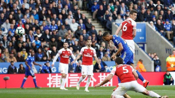 Hasil Akhir Liga Inggris Leicester City vs Arsenal Skor 3-0