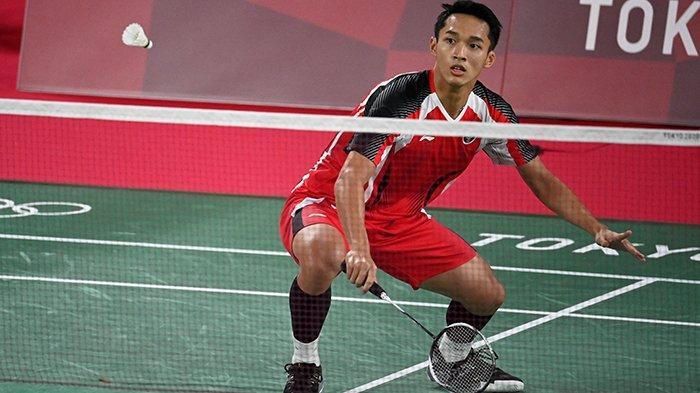 HASIL Badminton Olimpiade Tokyo 2020, Jonathan Christie Menang Mudah