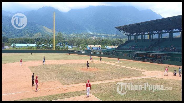 HASIL Baseball PON XX Papua 2021 DKI Jakarta vs Lampung, Skor 13-10 untuk Lampung