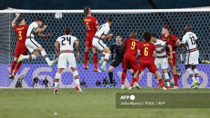 Hasil Euro 2020 Babak 16 Besar, Belgia Tumbangkan Portugal dengan Satu Gol