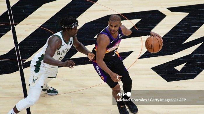 HASIL Suns vs Bucks Final NBA 2021, Chris Paul Tampil Gemilang Cetak 32 Poin