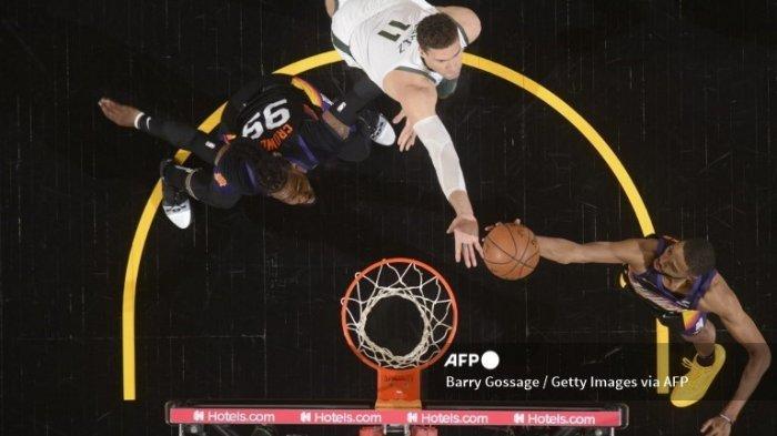 Hasil Final NBA 2021 Suns vs Bucks, Milwaukee Bucks Sukses Membalikkan Keadaan