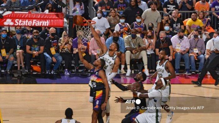 Jadwal Suns vs Bucks Final NBA 2021 Game Keenam Tayang Rabu 21 Juli 2021