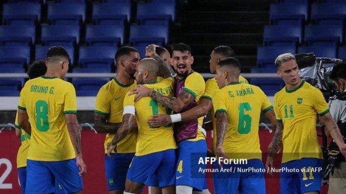 Kalahkan Spanyol di Final, Brasil Raih Emas Sepak Bola Olimpiade Tokyo 2020