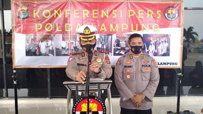 Ditlantas Polda Lampung Catat 2.208 Pelanggaran Selama 14 Hari Operasi Zebra Krakatau 2020