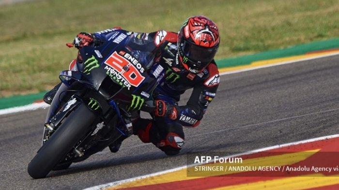 Hasil Klasemen MotoGP 2021 Aragon, Quartararo Masih Dipuncak, Dikawal Ketat Bagnaia