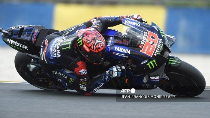 HASIL KUALIFIKASI MotoGP Prancis 2021, Fabio Quartararo Raih Pole Position